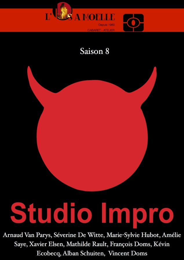 Flyers Studio Impro 2014 saison 8 - RECTO