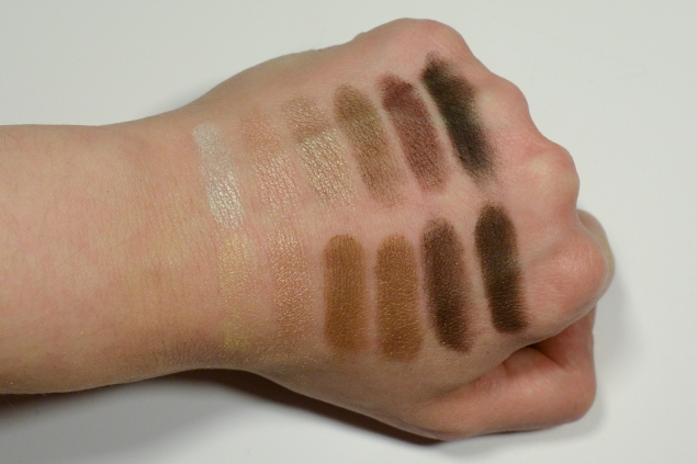 swatch the balm palette