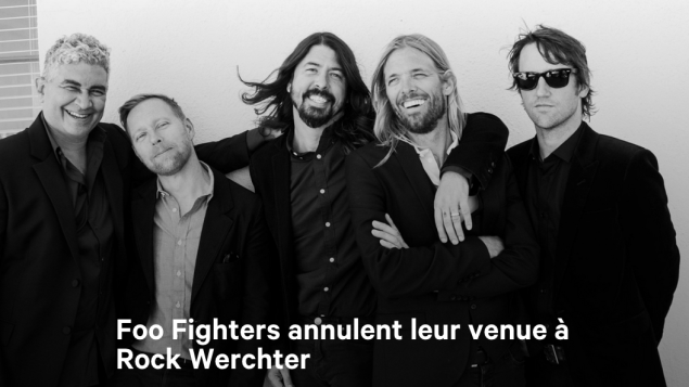 foo fighters annulent leurs concerts